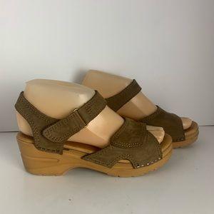 Dansko Leather Ankle Strap